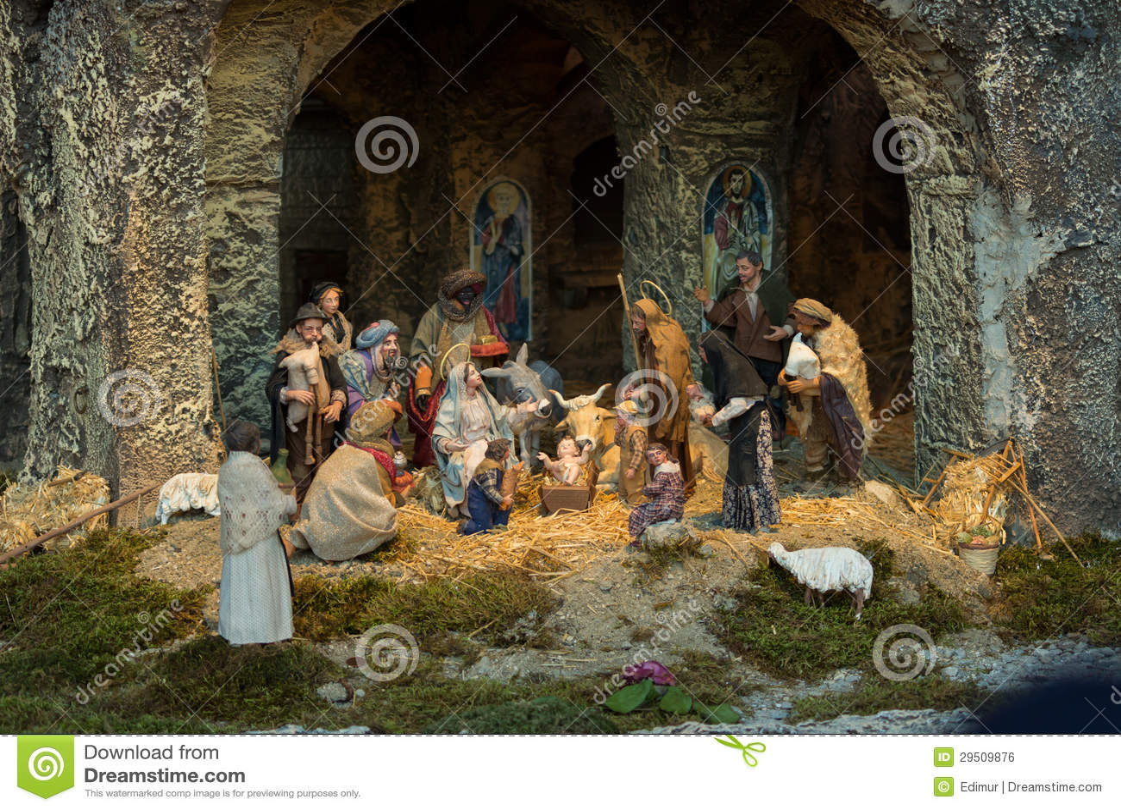 Nativity van Vatikaan