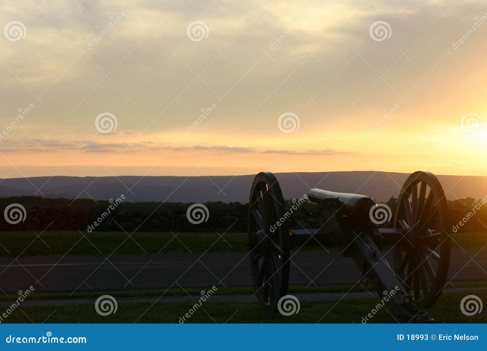 Natl Militaire Park van Gettysburg