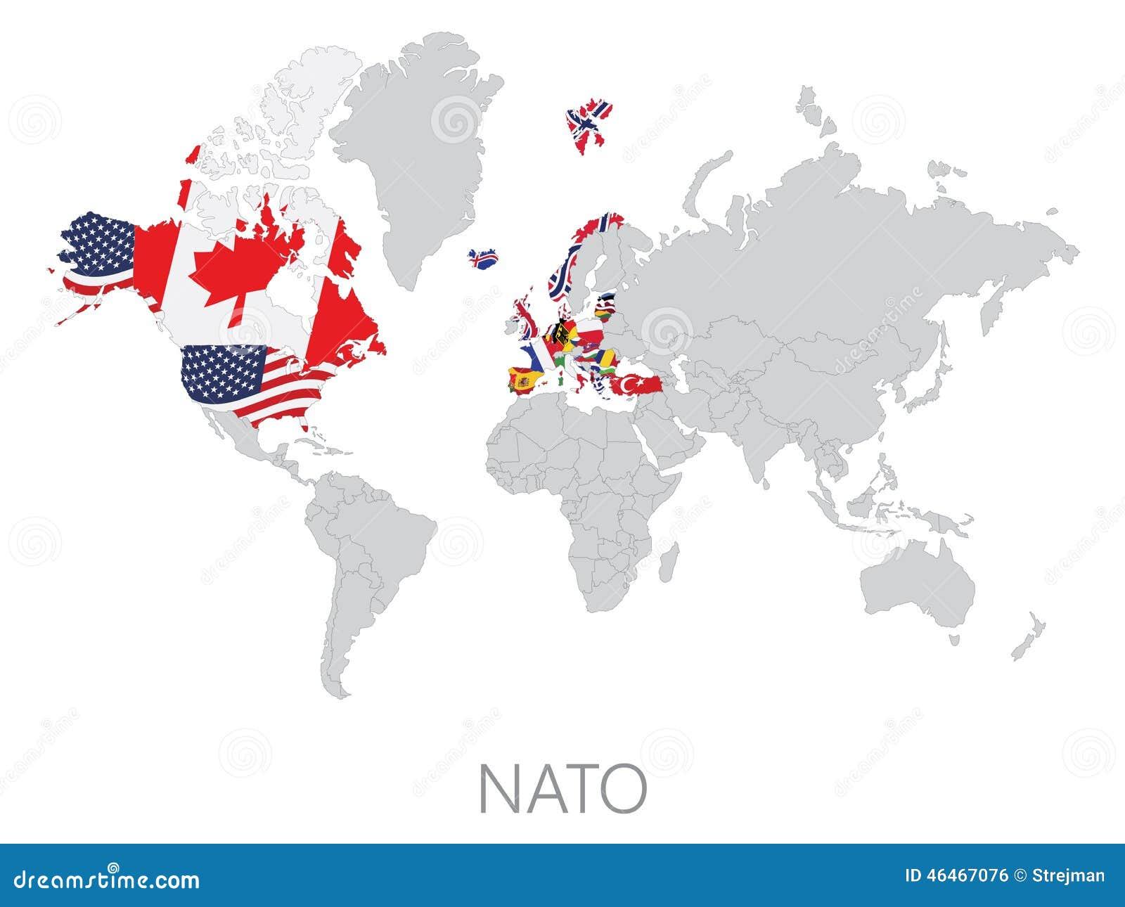 Nato na światowej mapie