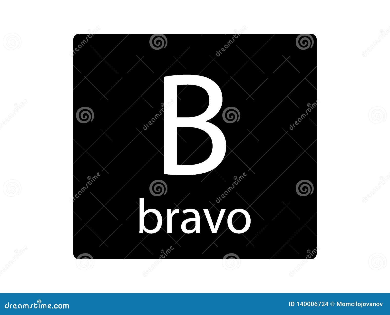 Letter Bravo Stock Illustrations 156 Letter Bravo Stock Illustrations Vectors Clipart Dreamstime