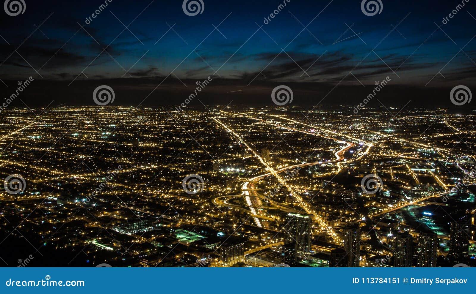 Nattstadsljus i förorter