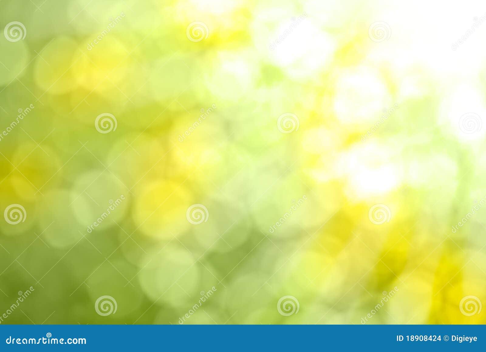 Natur Bokeh - abstrakter Hintergrund