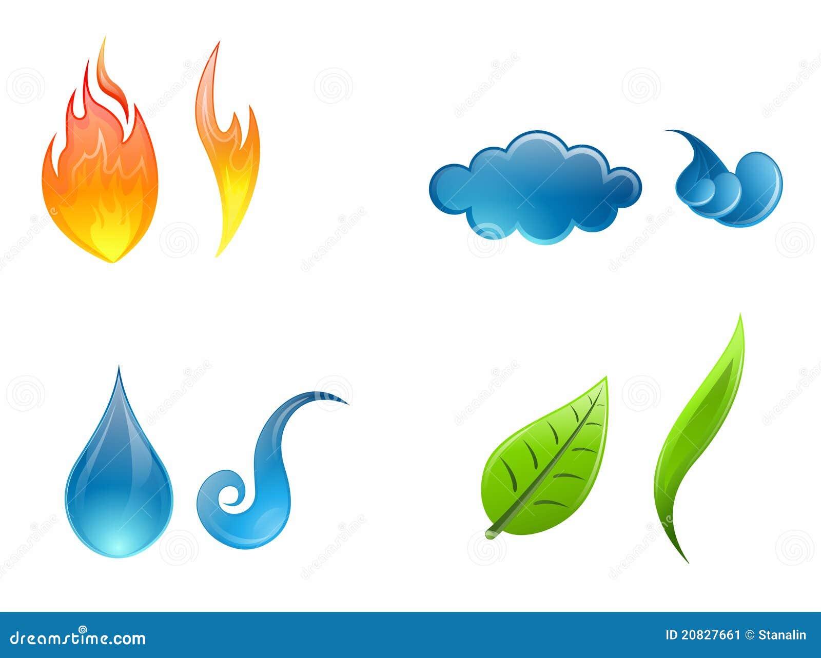Natur för element fyra