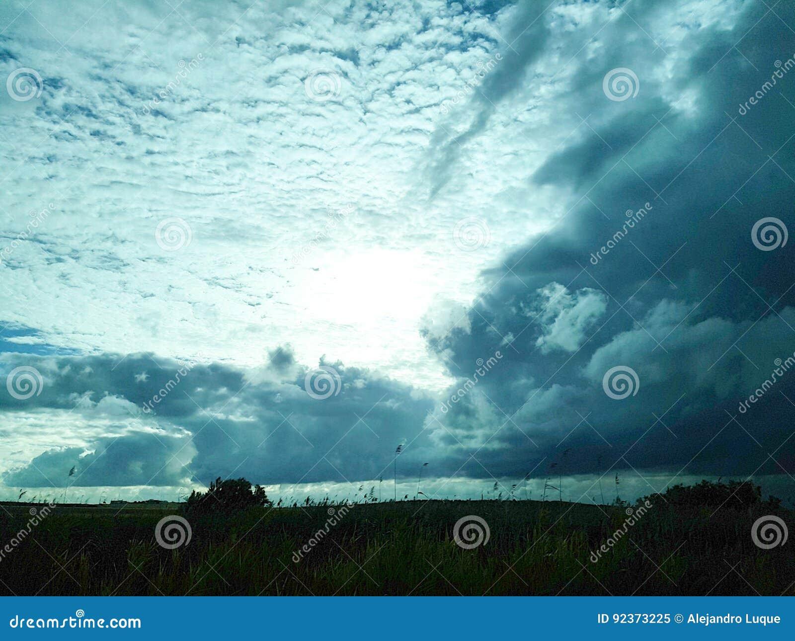 Natur 100 , himmel, moln, sol, vinter