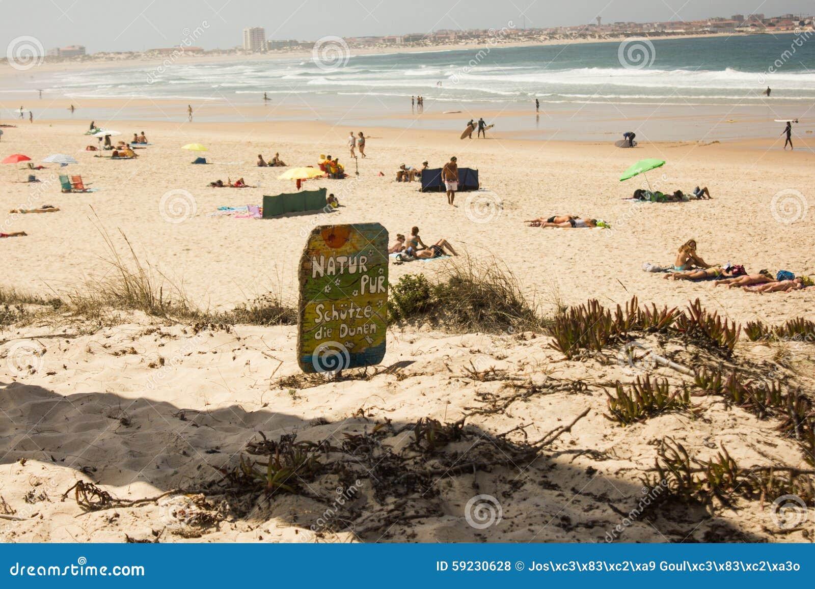 Download Natur Pur, Schutze Muere Dunen, Una Súplica En Alemán Para La Protección De La Naturaleza, Especialmente Las Dunas Foto de archivo - Imagen de arena, limpio: 59230628