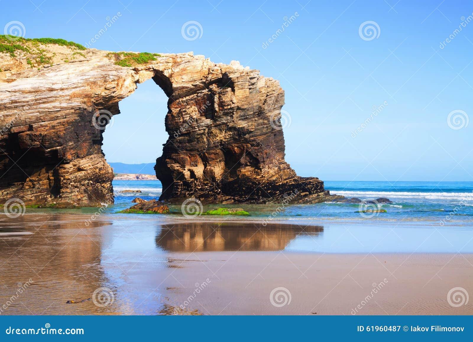 beach - it is the turistic name of Praia de Augas Santas (Beach ...