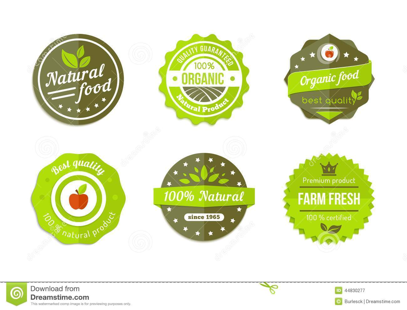 Natural badges
