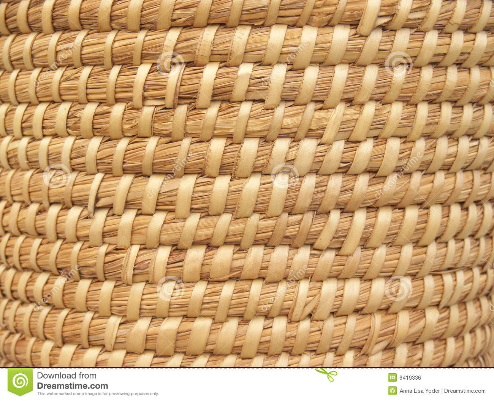 Coil Basket Weaving Patterns : Natural basket weave background royalty free stock image