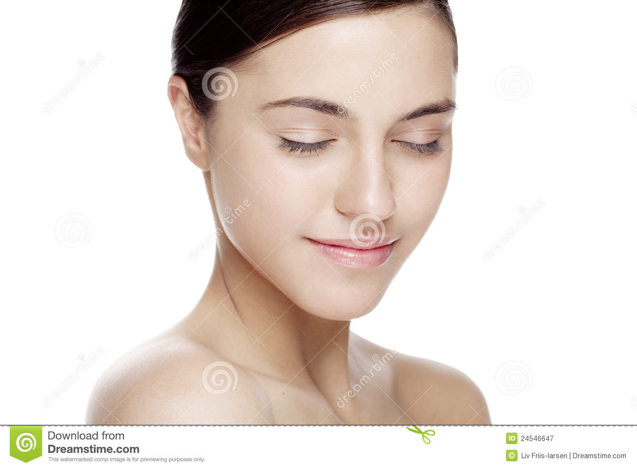 Natural beauty face stock image. Image of health ...