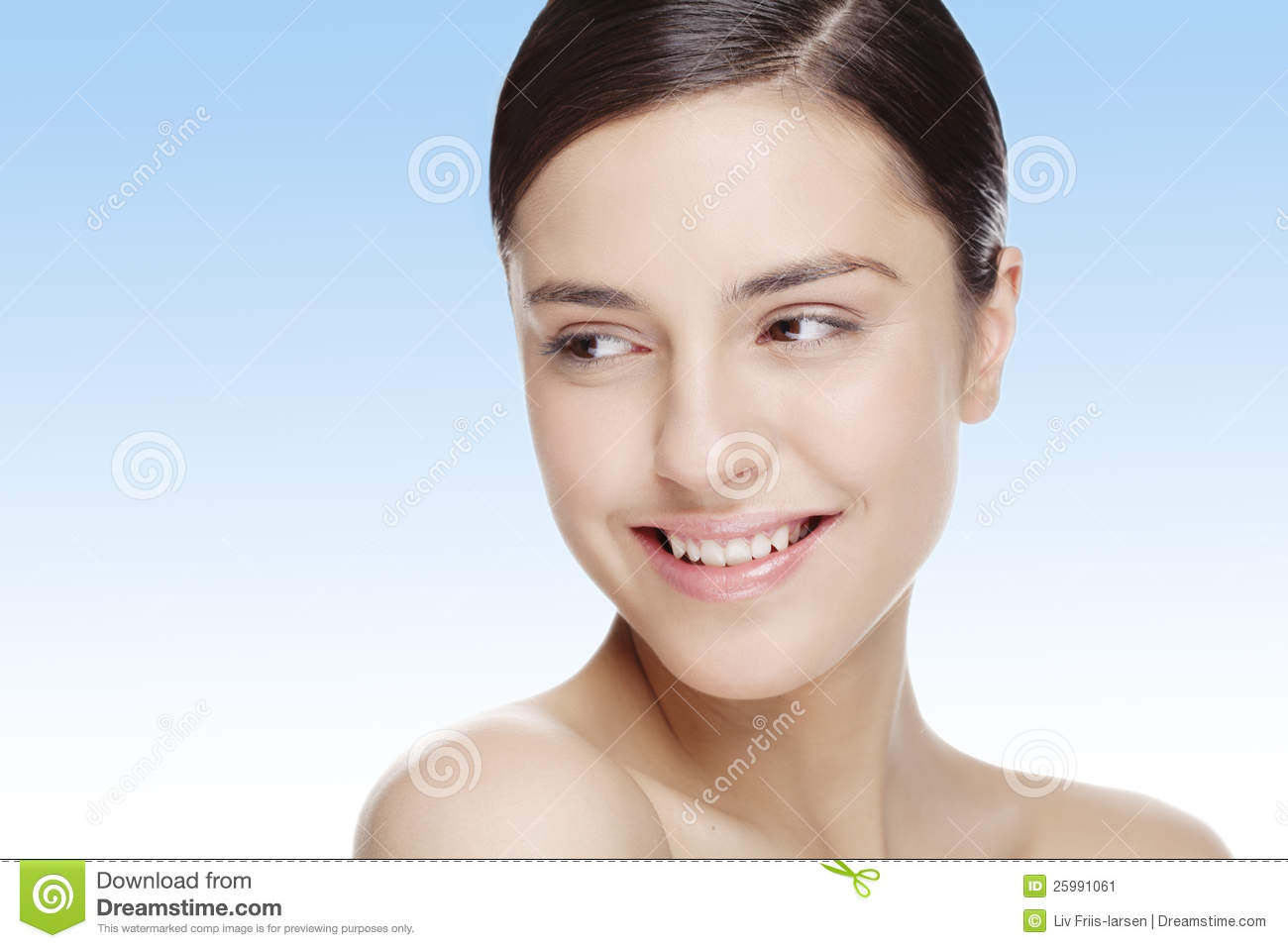 Natural beauty face stock image. Image of female, facial ...
