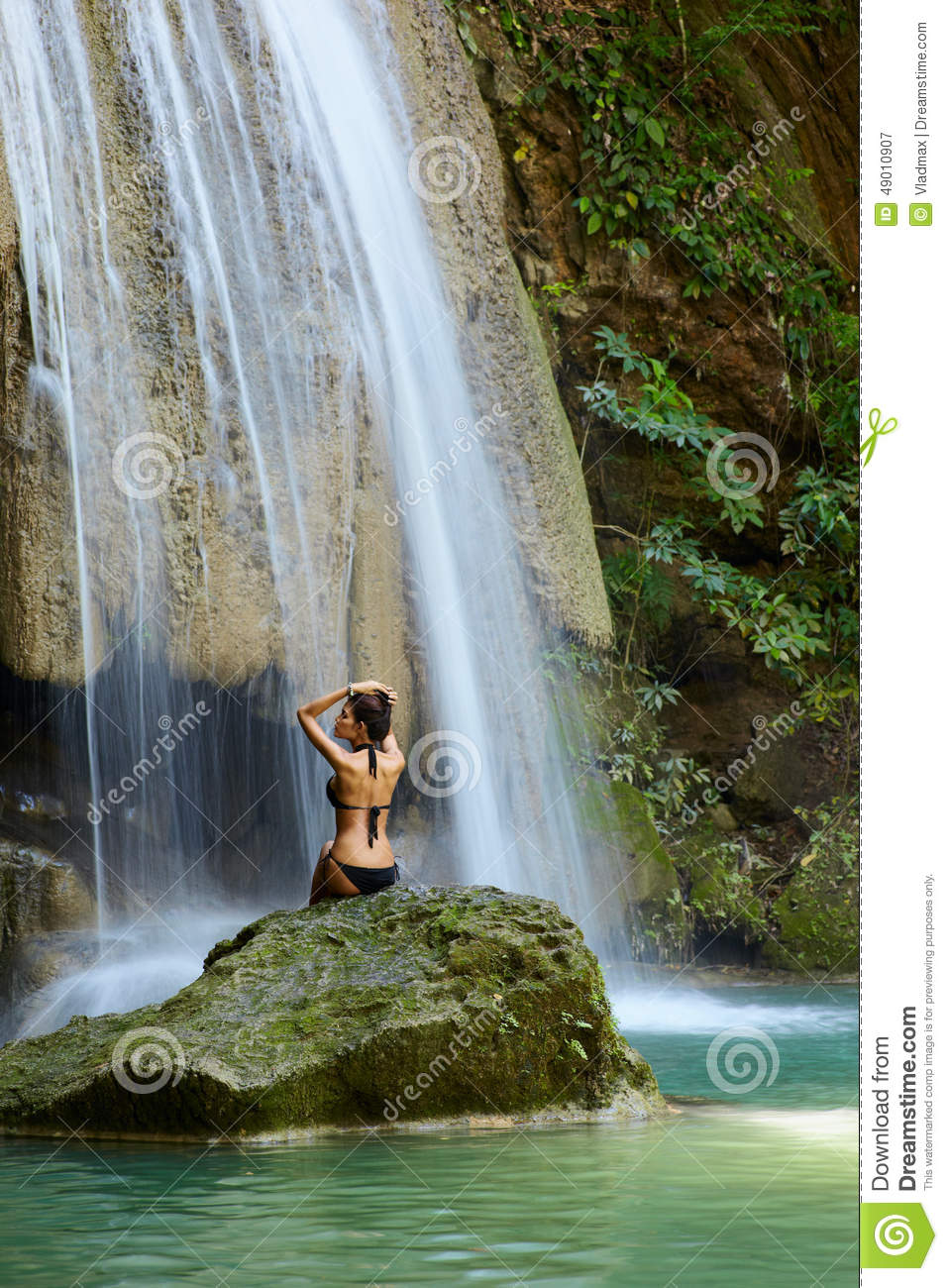 Natural Beauty, Young Woman In Nature Stock Photos - Image: 17185793