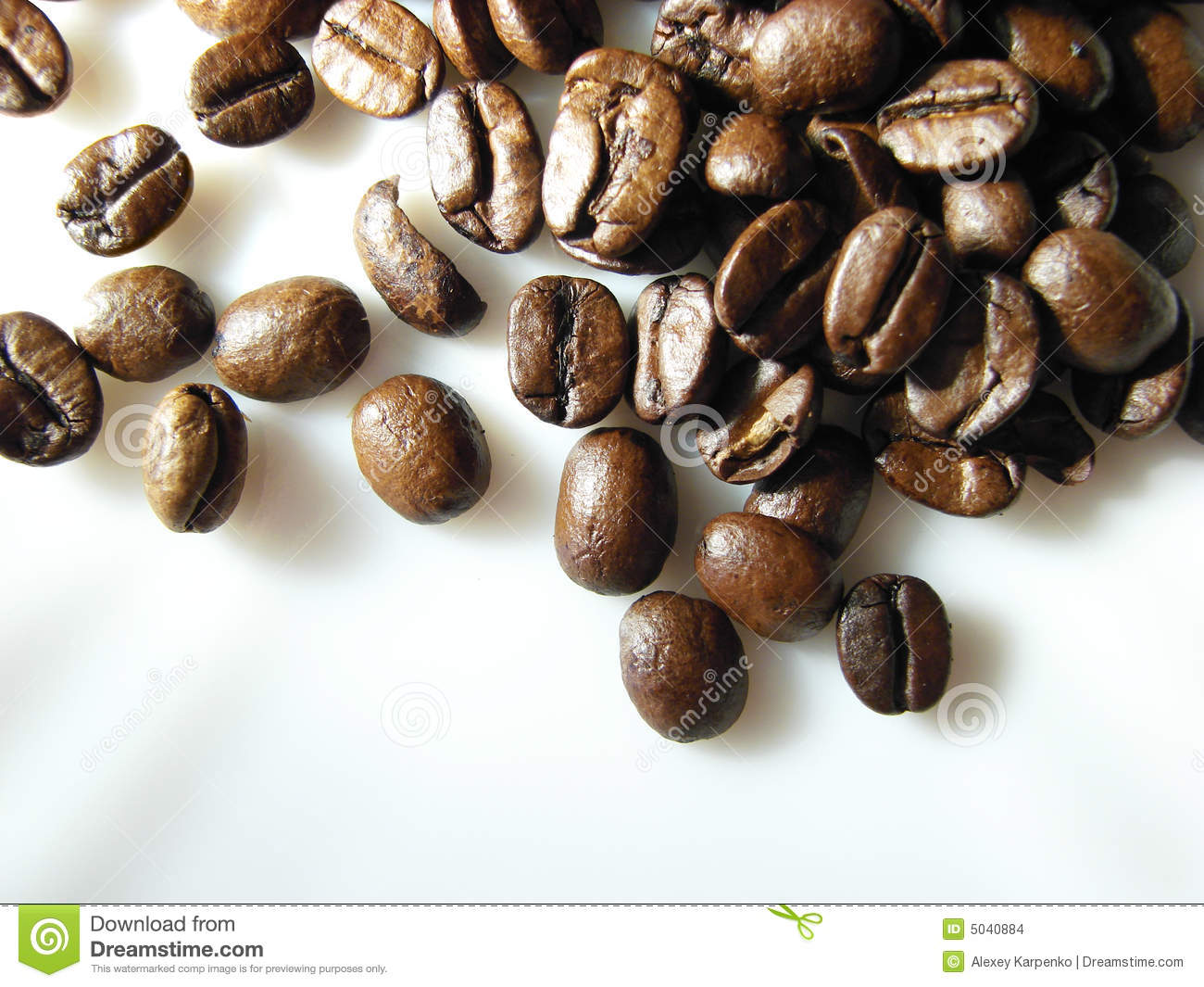 Natural Dark Coffee : Natural black coffee beans background stock images