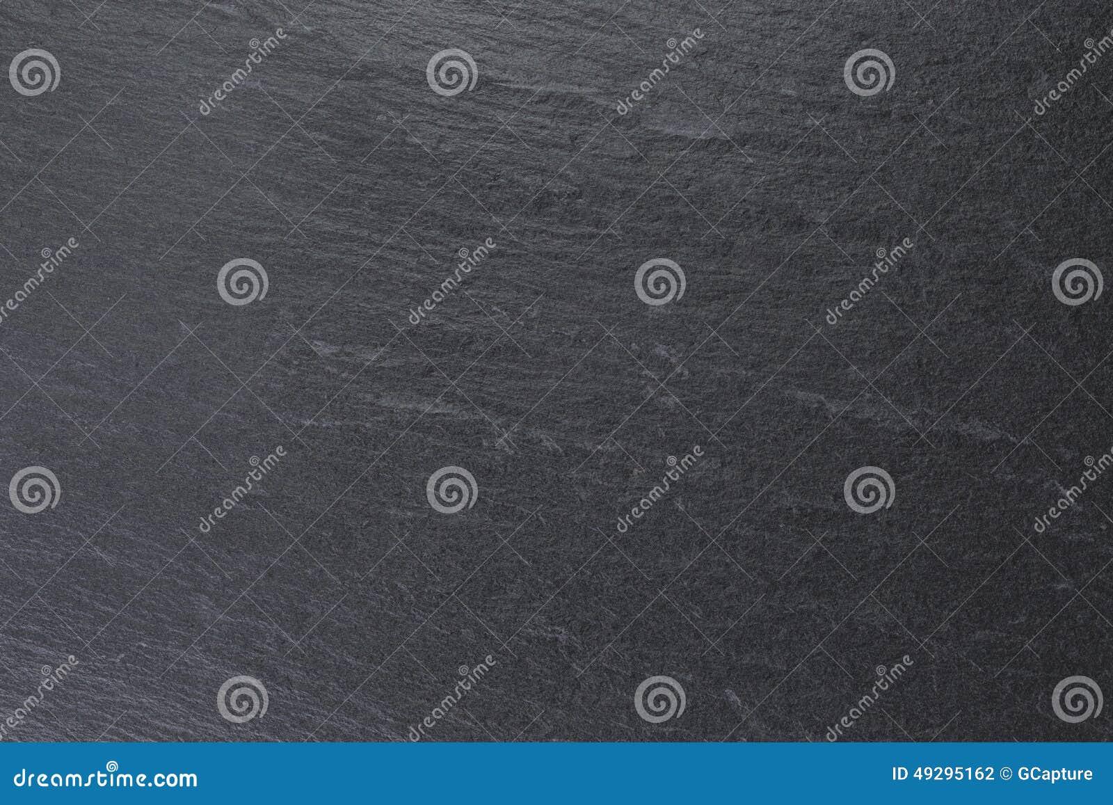 Natural black slate background