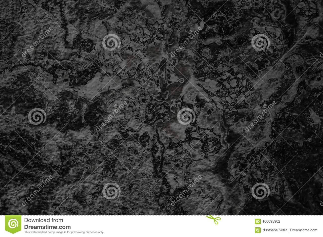 Natural Black Stone Wall Background Or Texture Background ...