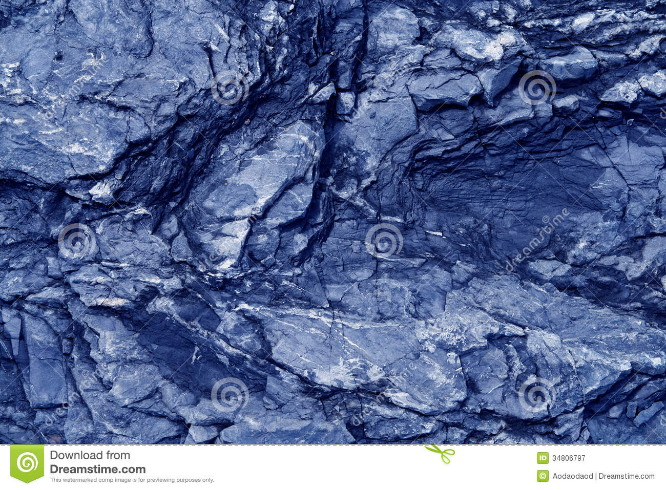 Natural Blue Stone Texture Royalty Free Stock Photography