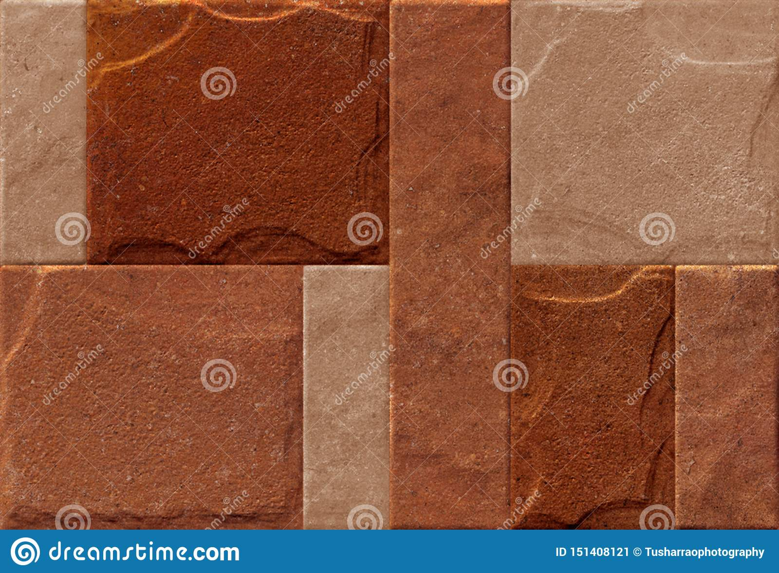 Natural Brick Wallpaper And Texture Used For Wall Tile