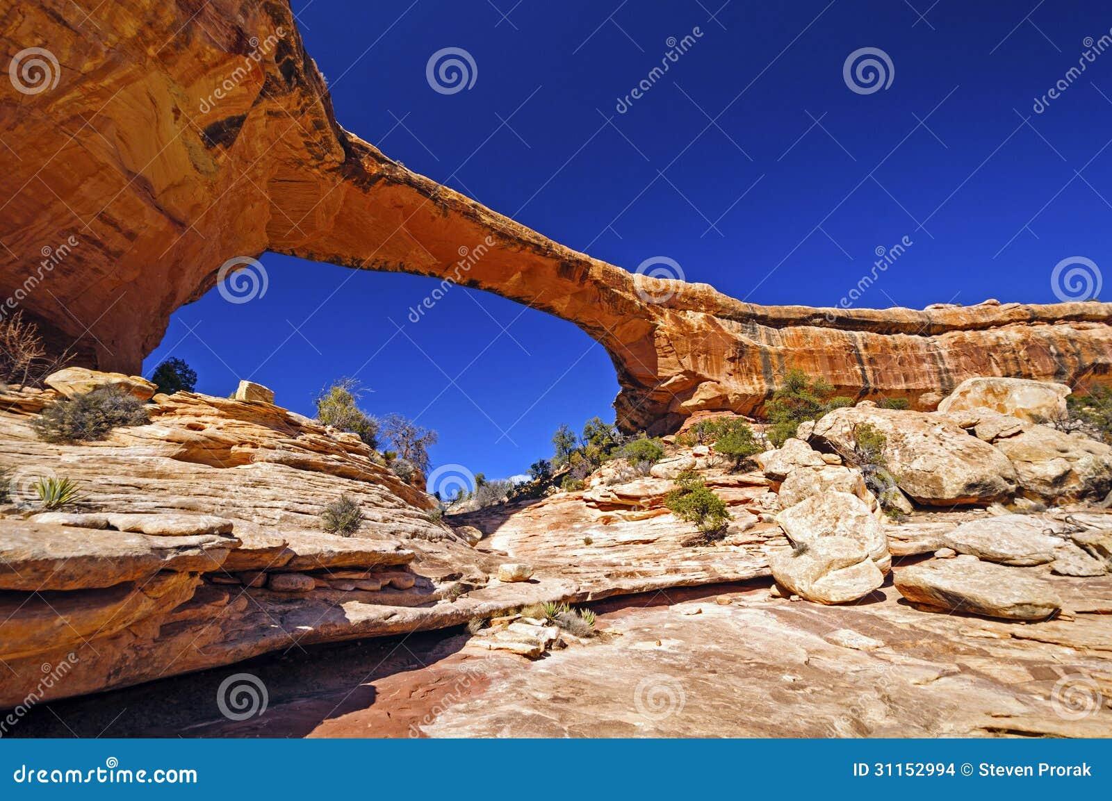 Natural Bridge in the Desert