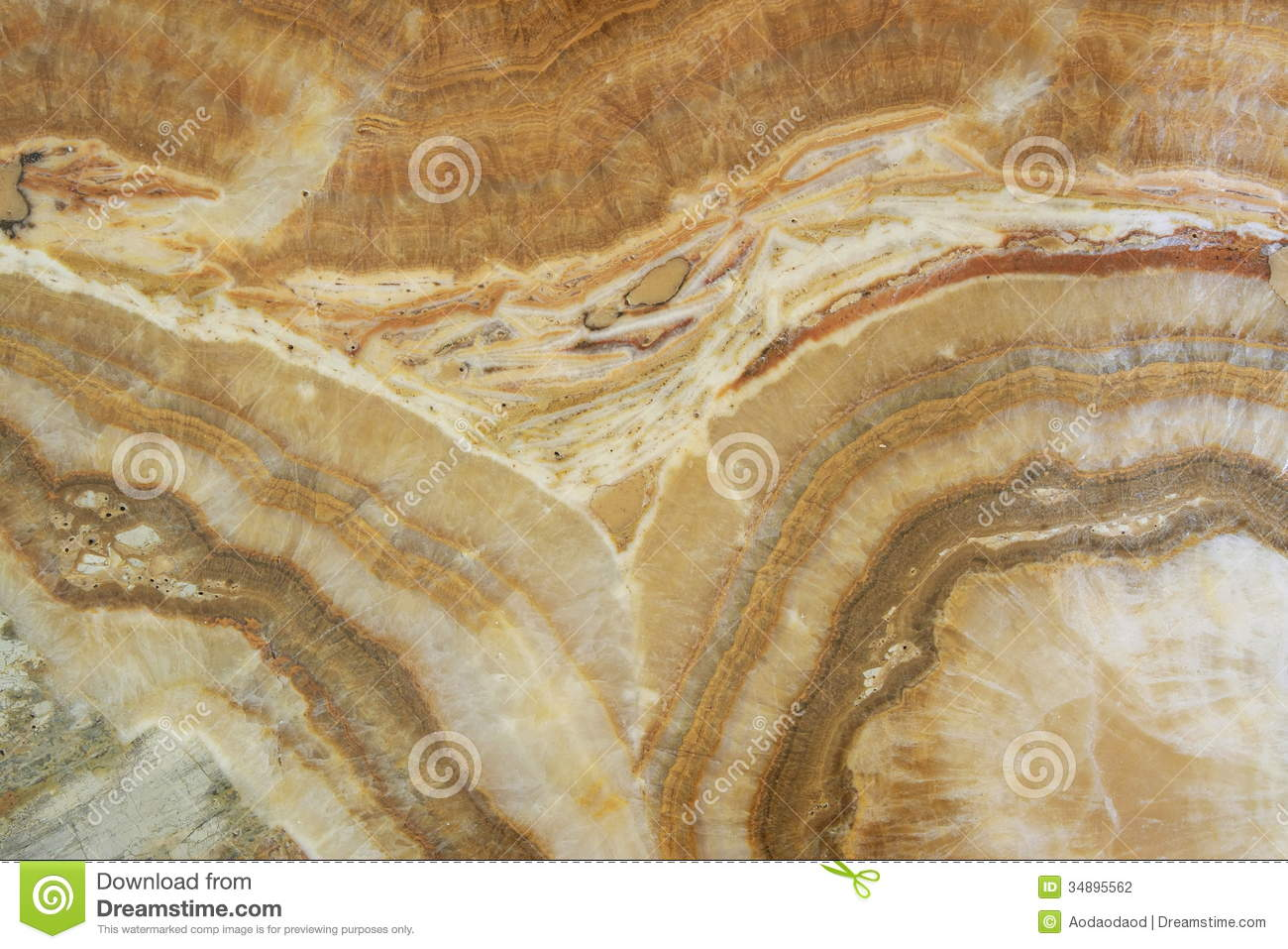 Brown And White Granite : Orange yellow white and brown granite stock photo