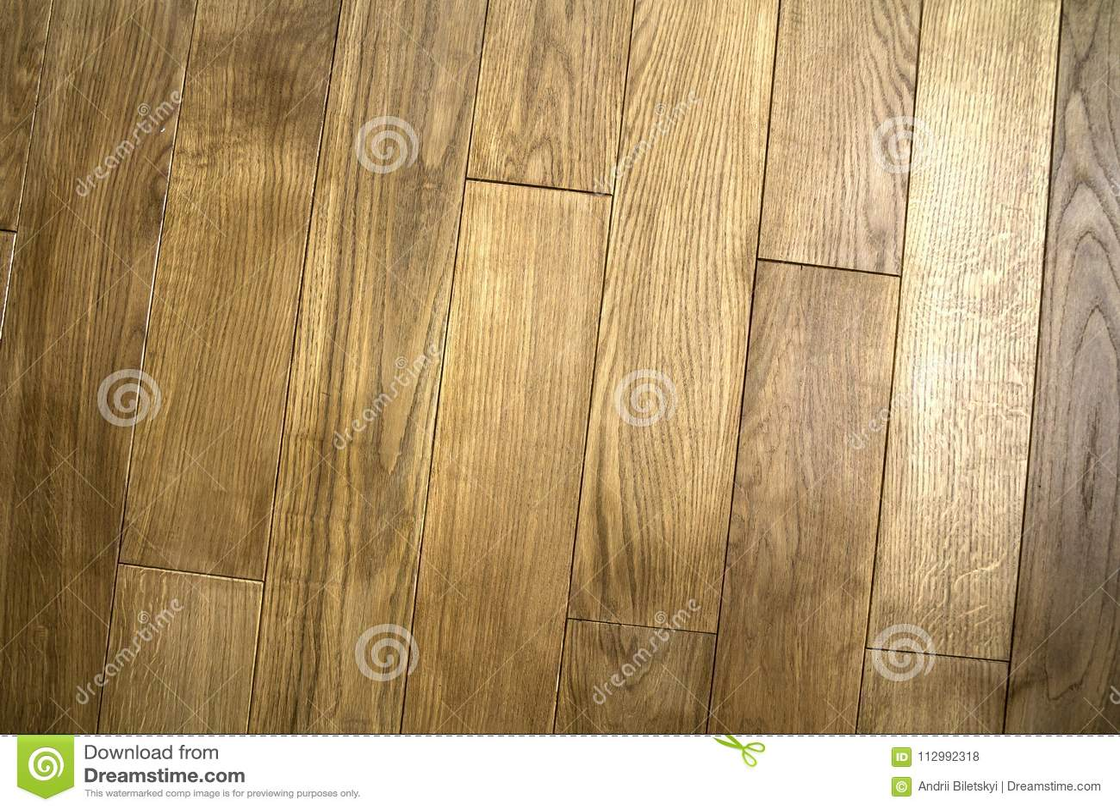 Natural brown texture wooden parquet floor boards