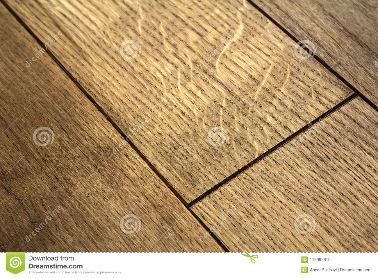 Natural brown texture wooden parquet floor boards