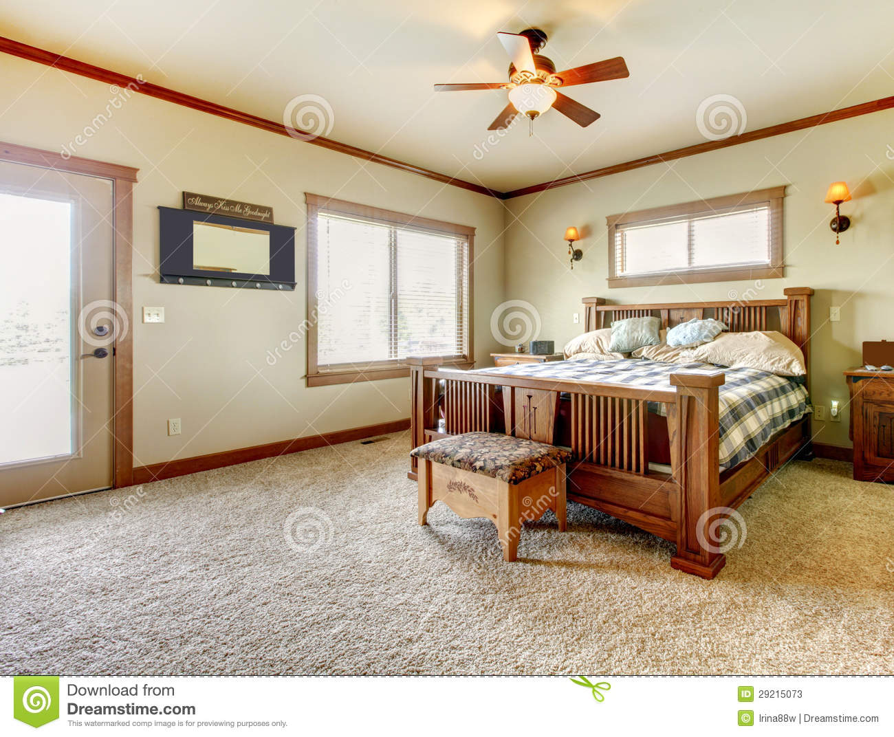 royalty free stock photo - Carpet Bedroom