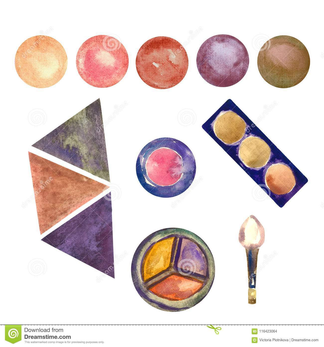 Palettes Cartoons, Illustrations & Vector Stock Images ...