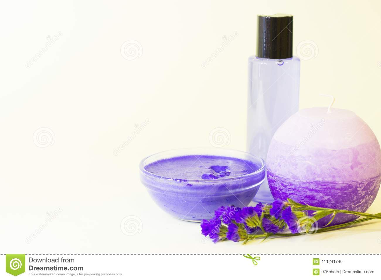 Beauty And Spa Concept With Lavender Stock Photo Image Of