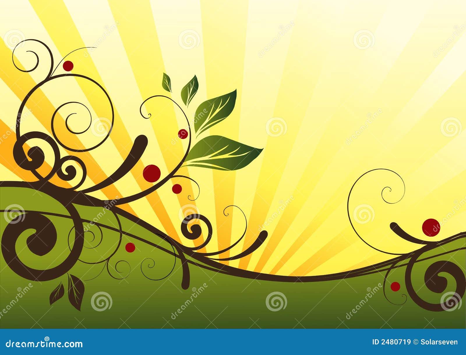 natural floral design stock illustration illustration of