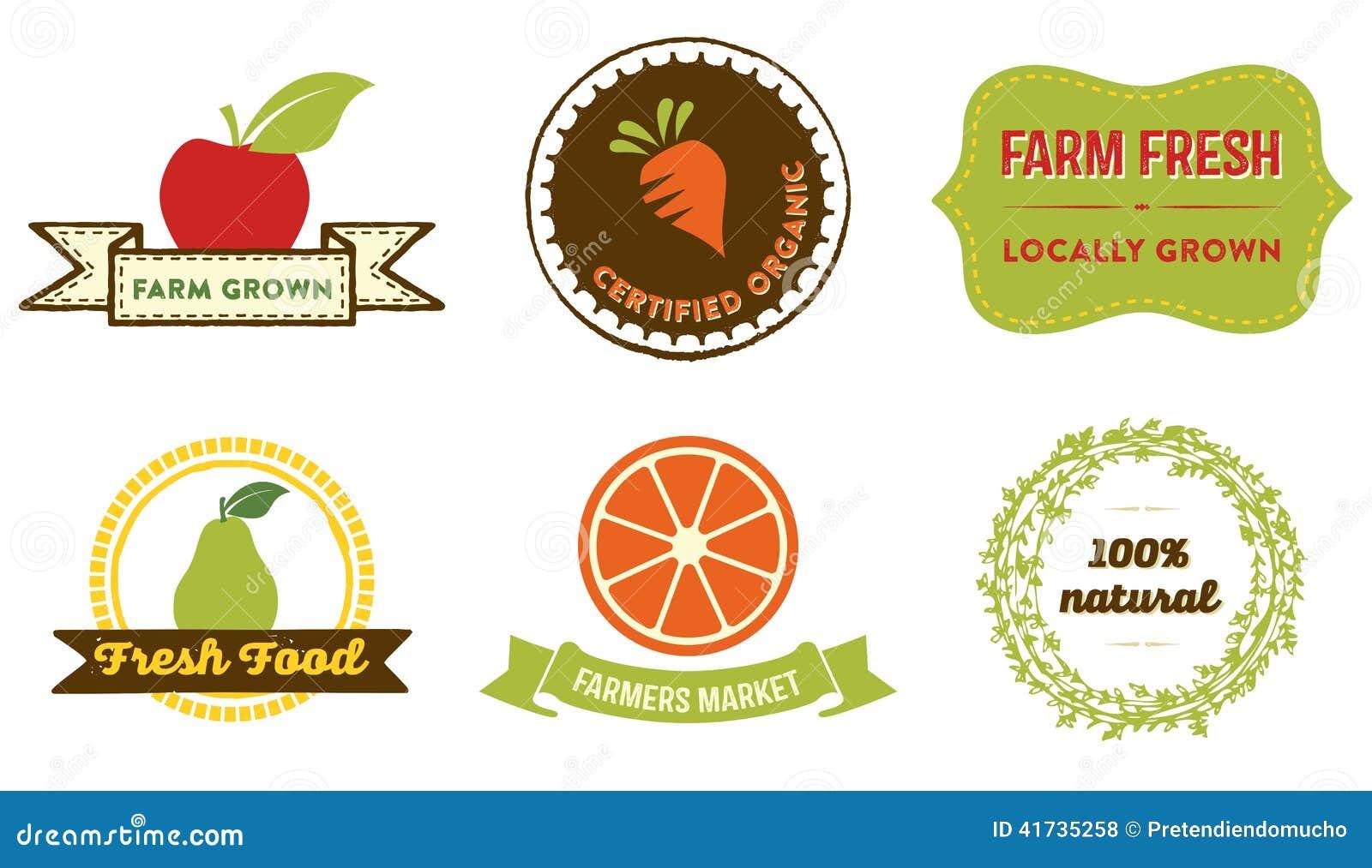 Certified Organic Food Labels