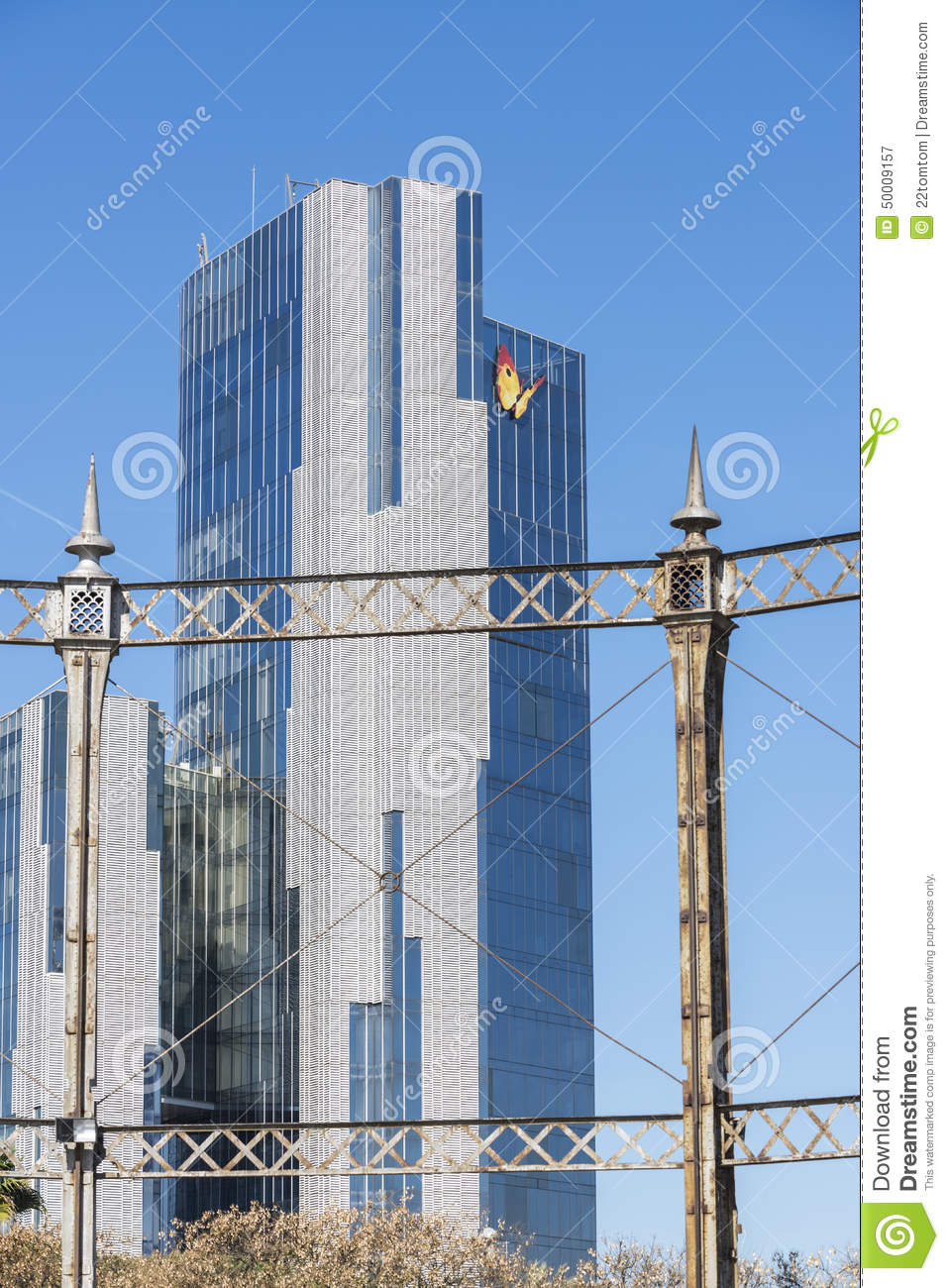 Natural gas headquarters editorial photography image 50009157 - Steel framing espana ...