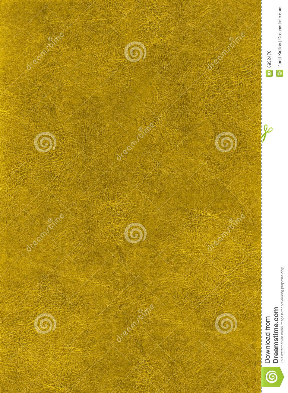 Natural gold leather texture