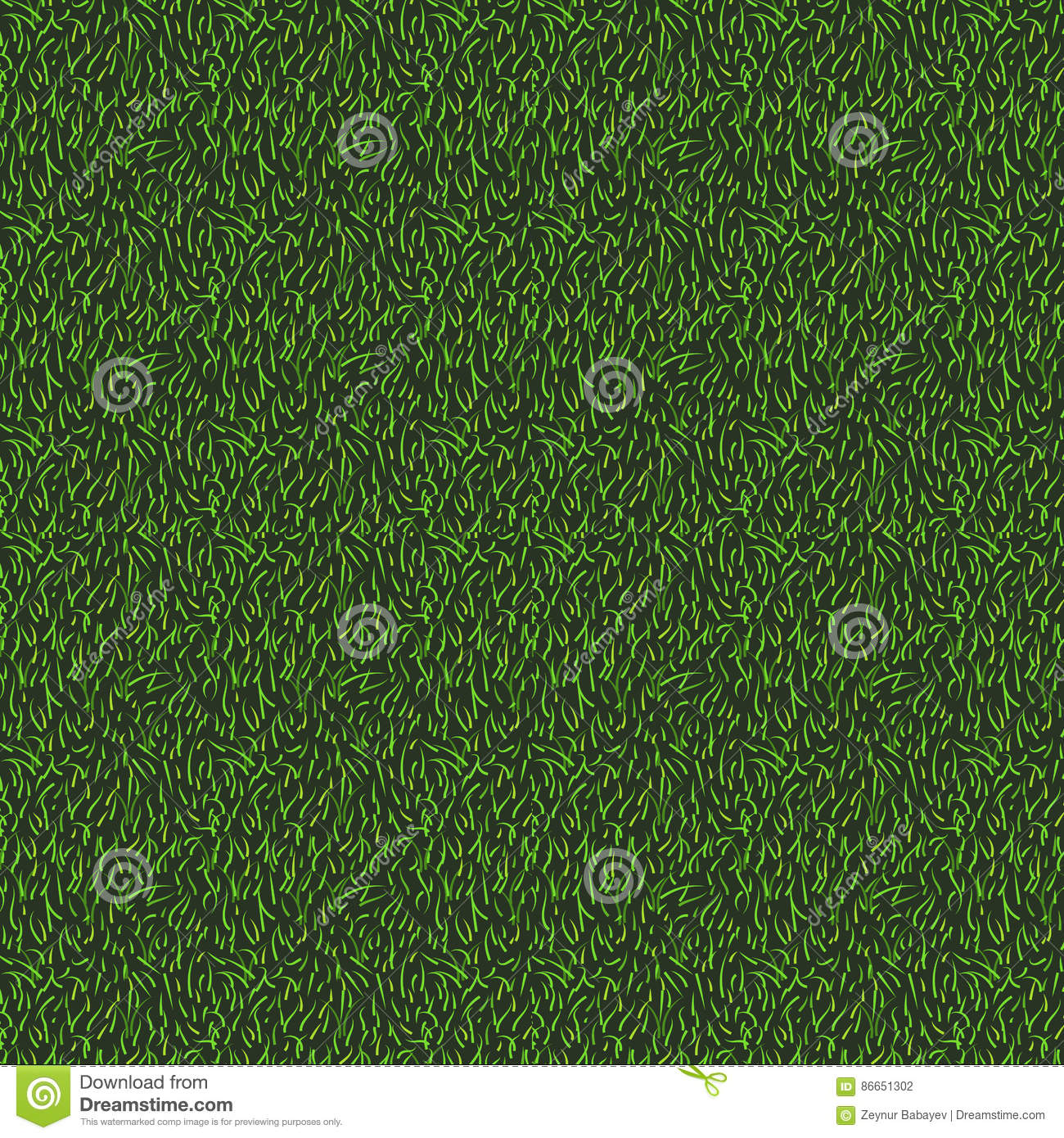Download Natural Grass Seamless Texture Background Top View Of Or Stadium Stock Vector