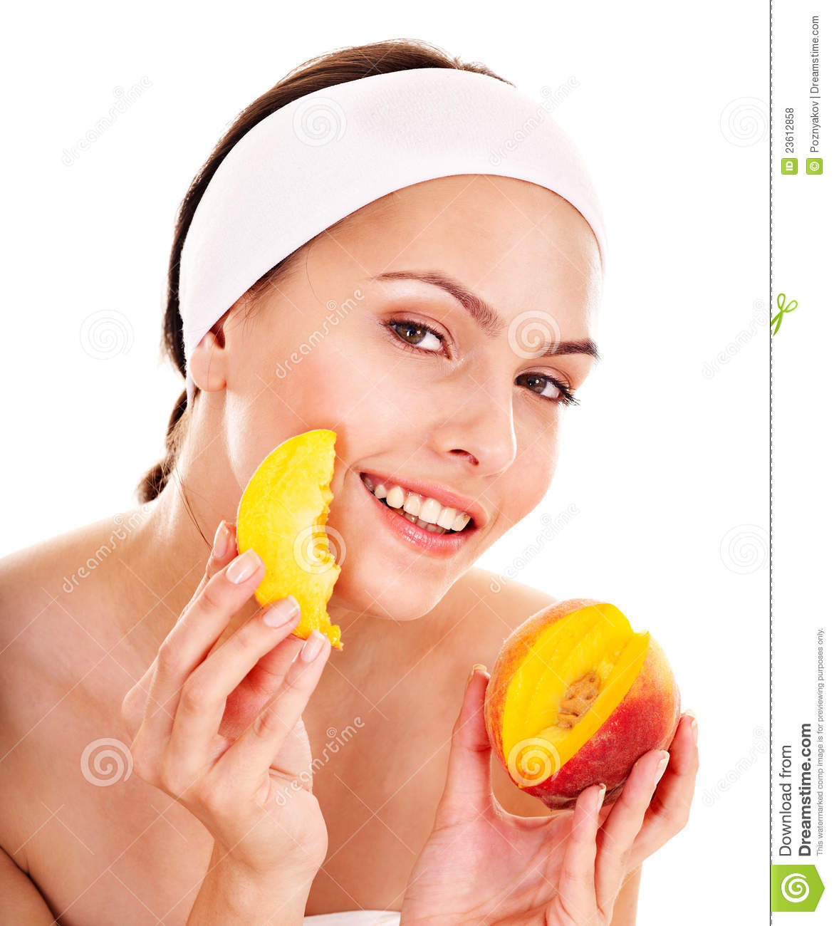 Phrase Facial fruit mask