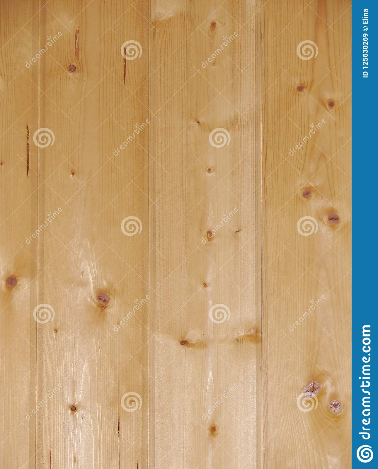 Natural Light Brown Wooden Board Background Vertical Stock