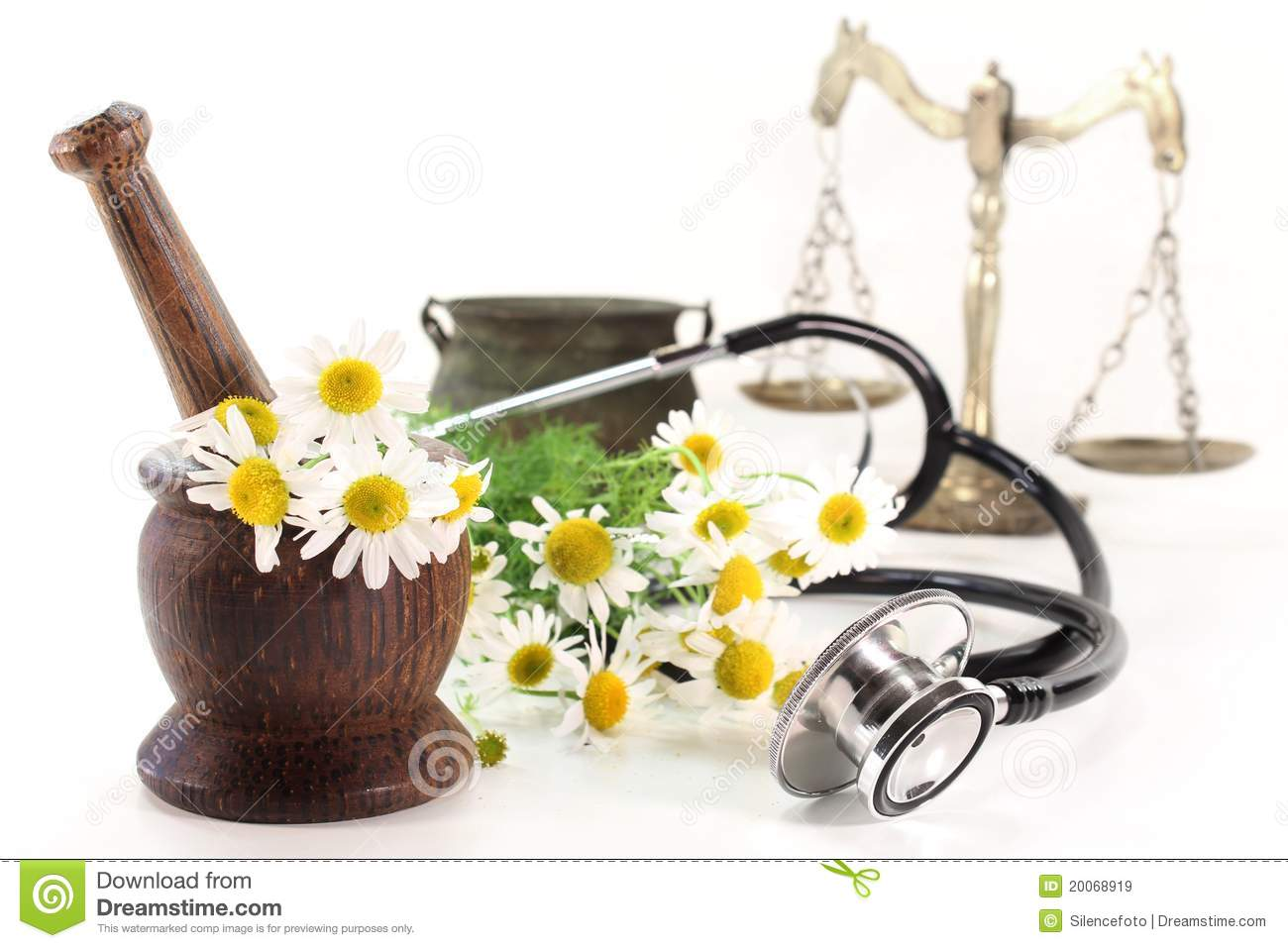 Natural Medicine stock image. Image of plants, homeopathy ...