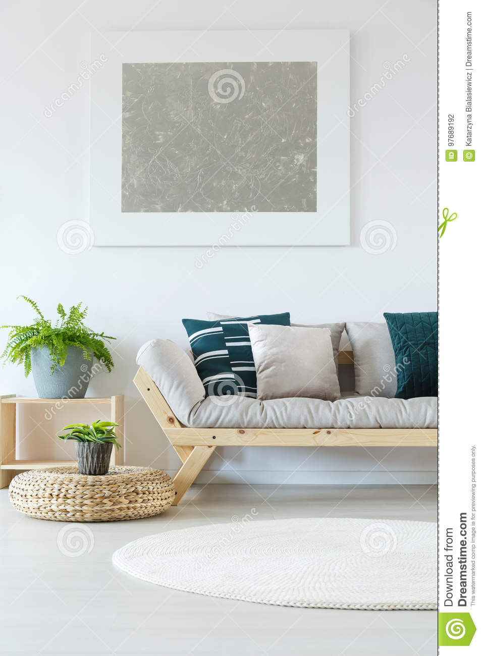 Peachy Natural Minimalist Home Decor Mock Up Stock Photo Image Of Andrewgaddart Wooden Chair Designs For Living Room Andrewgaddartcom