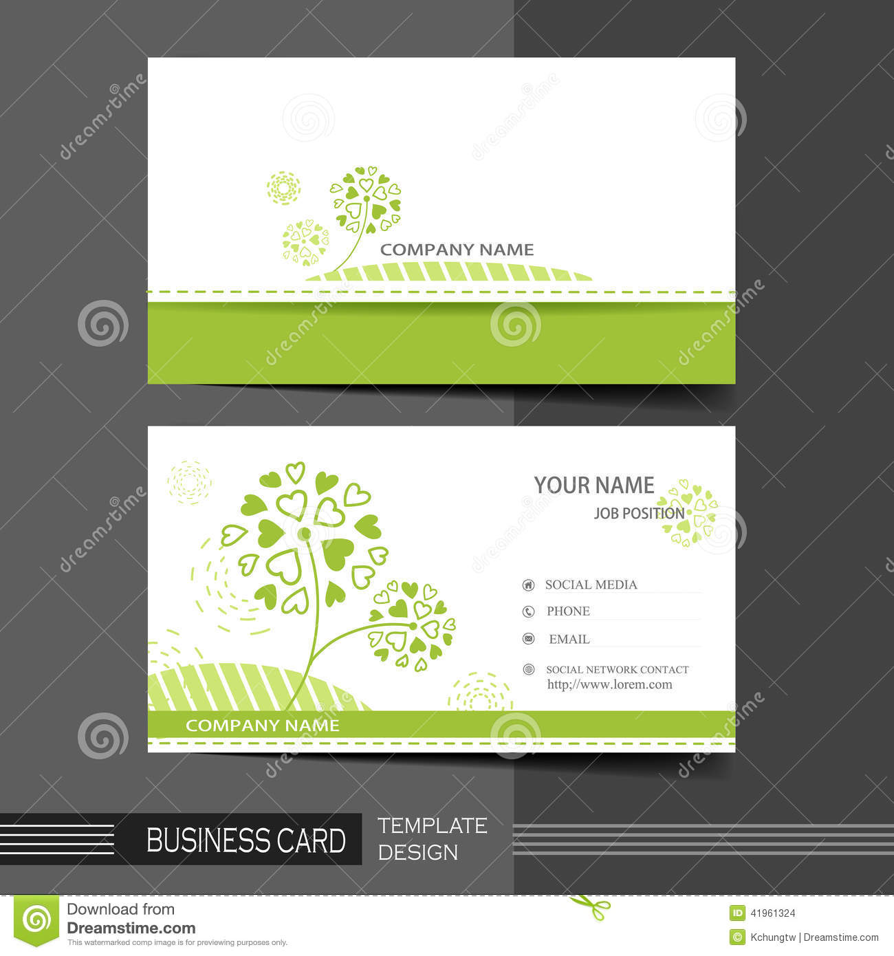 Natural modern business card template stock vector illustration of natural modern business card template stock vector illustration of creative advertise 41961324 reheart Gallery