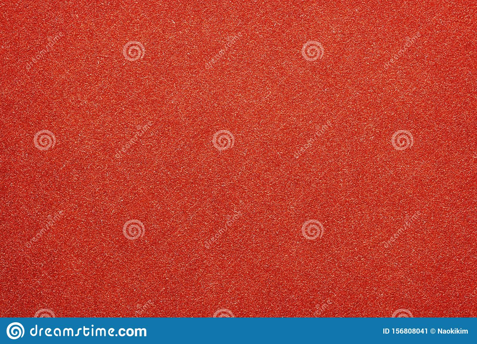 Red colored glitter paper abstract or vintage texture background