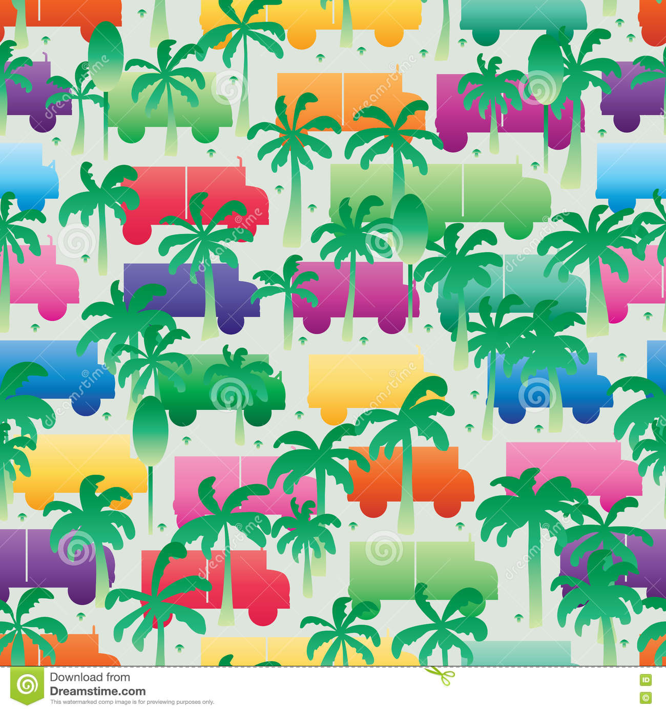Natural reduce pollution seamless pattern