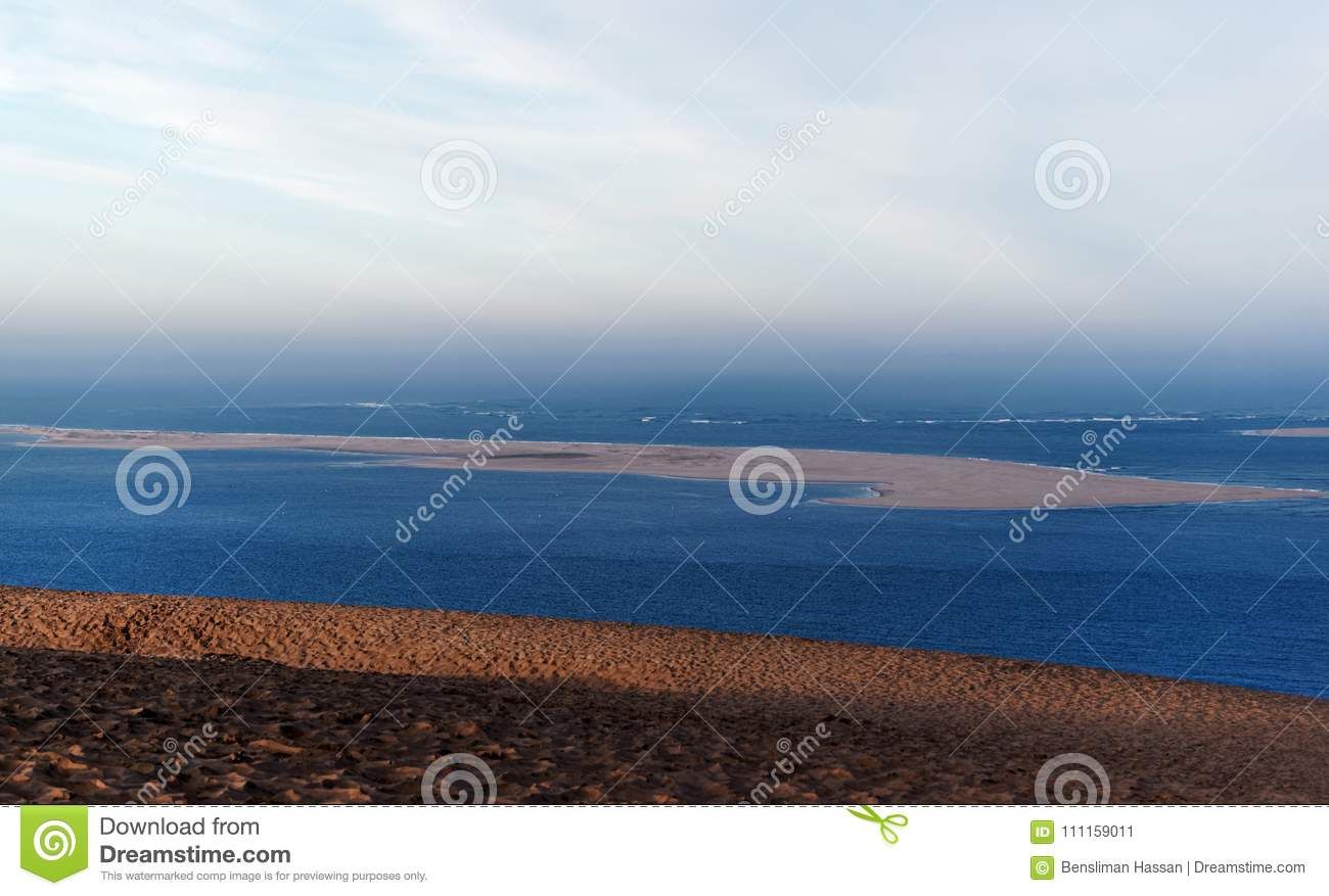 Natural Reserve Of The Banc Darguin Stock Image Image Of Reserve