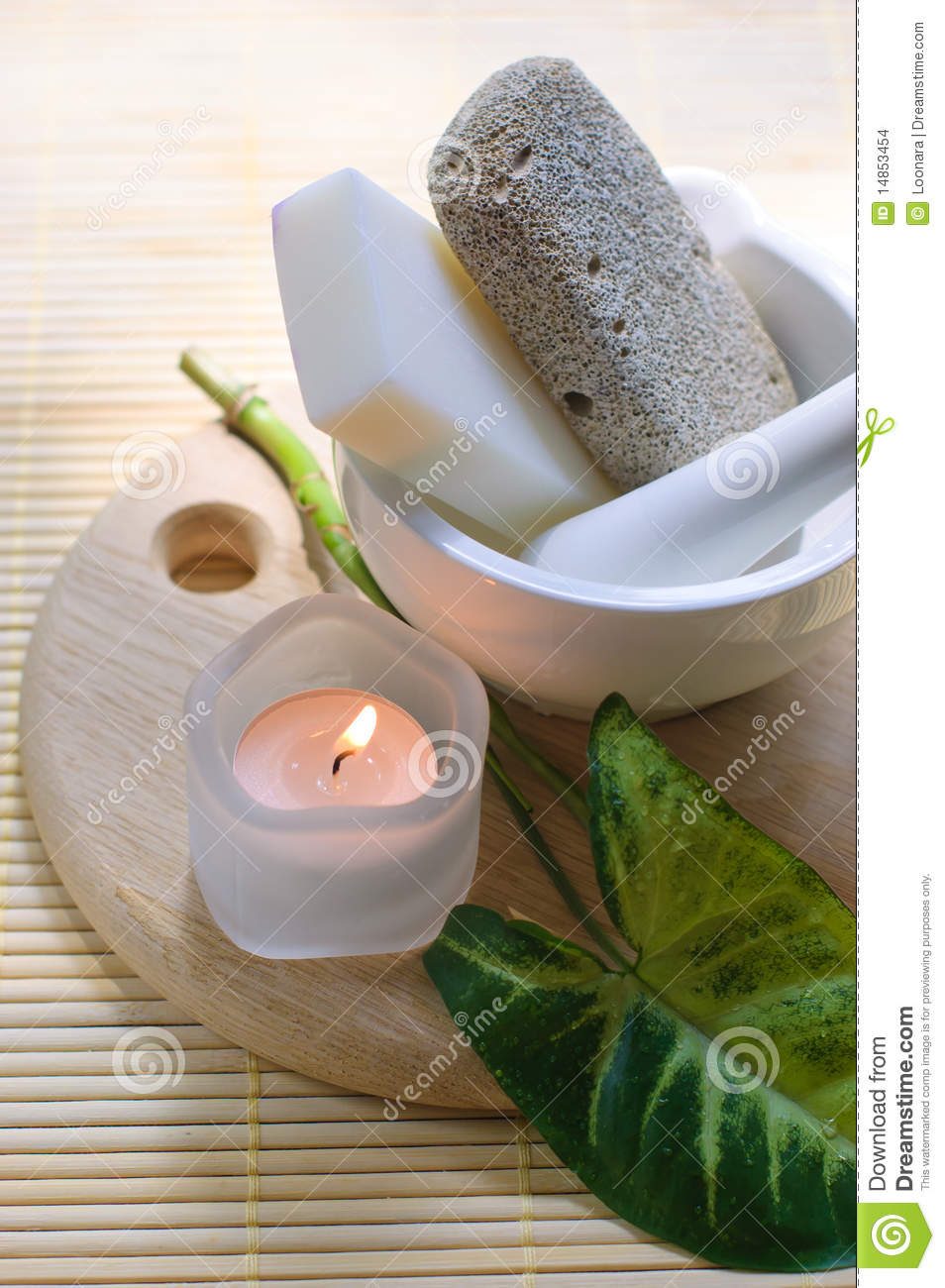 Natural resources for spa