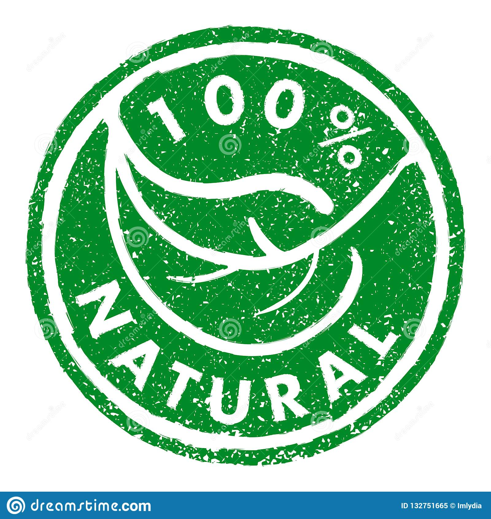 100  NATURAL rubber stamp grunge style