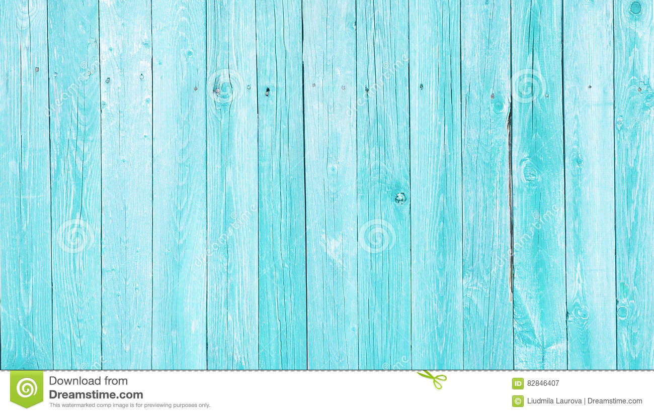 Natural Rustic Old Wood Shabby Blue Background Stock