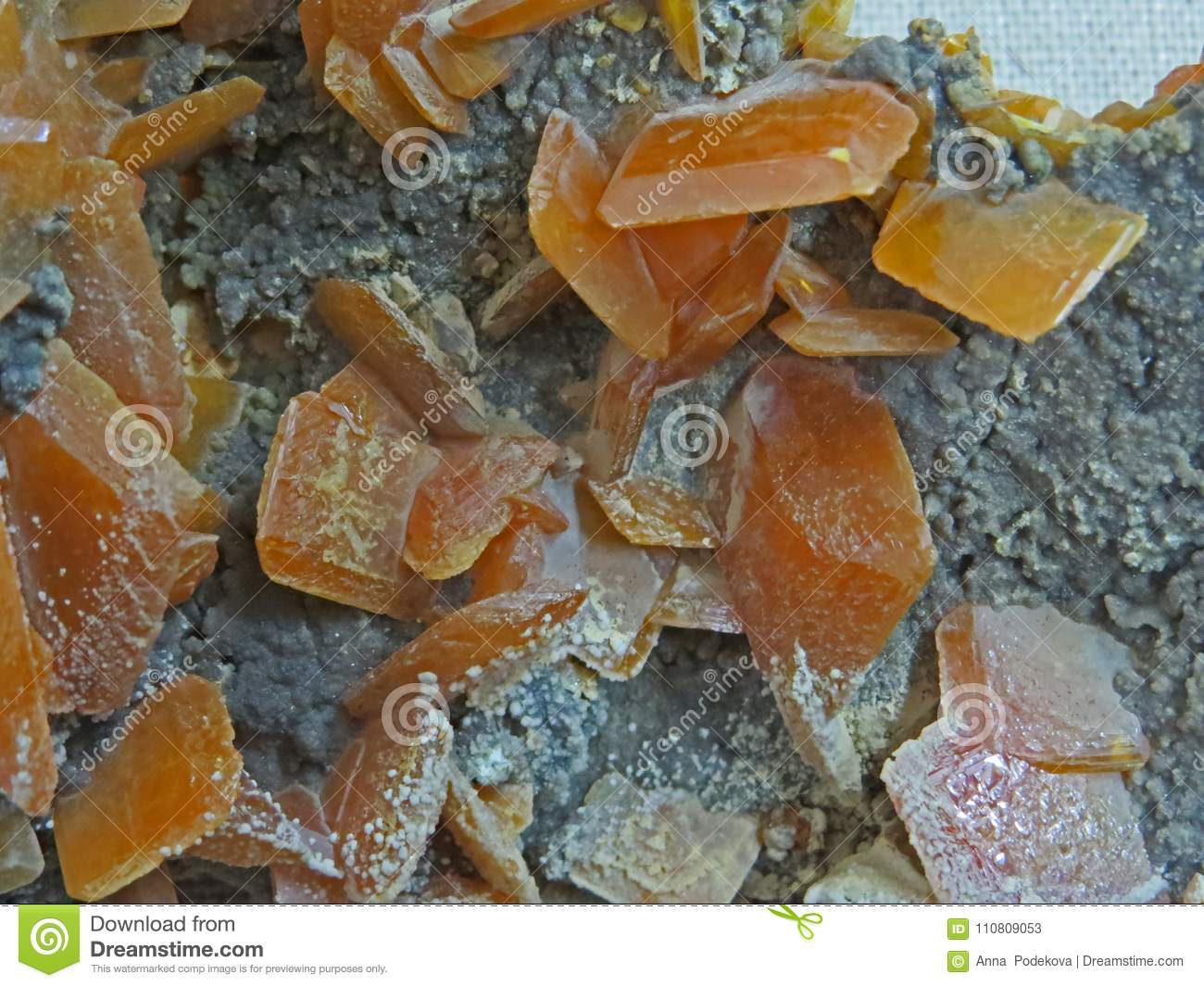 Natural shapes. Minerals and semi-precious stones textures and backgrounds