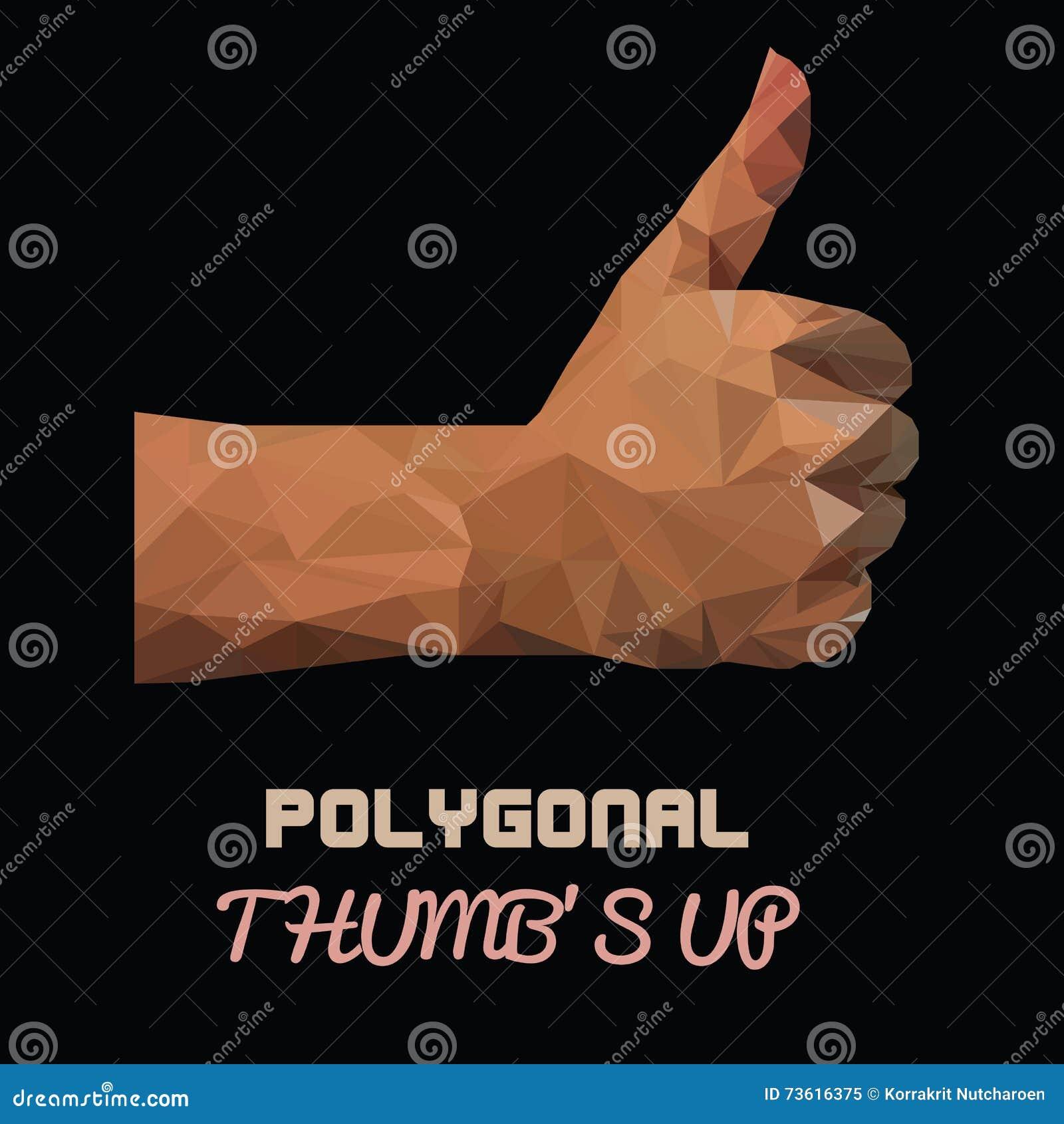 Polygonal Hand Holds Yellow Banana Black Coup Cartoon ... - photo#33