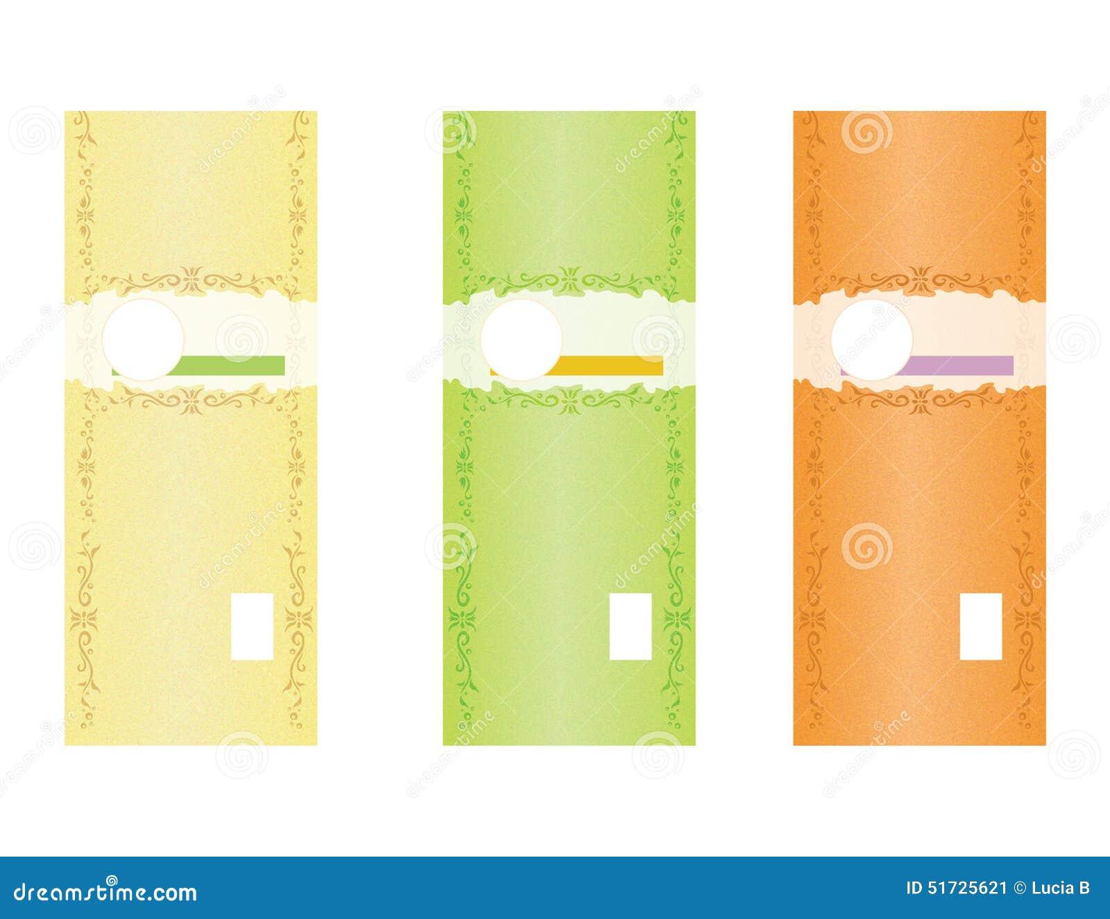 Natural Soap label templates 2