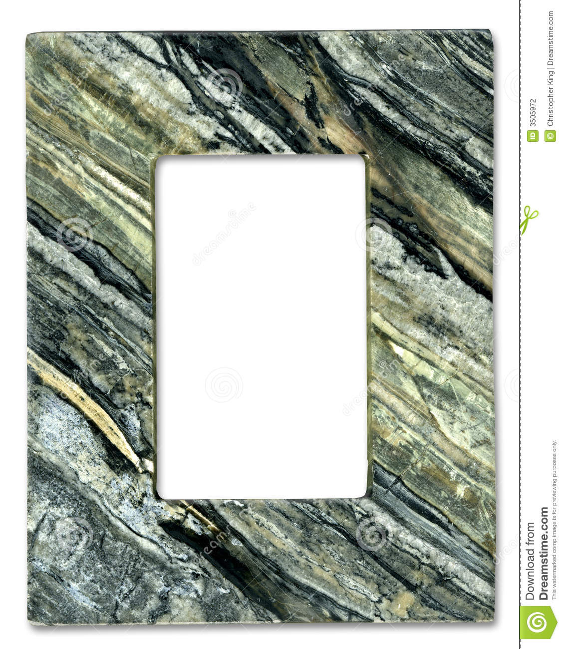 Natural Stone Frame Stock Photography Image 3505972