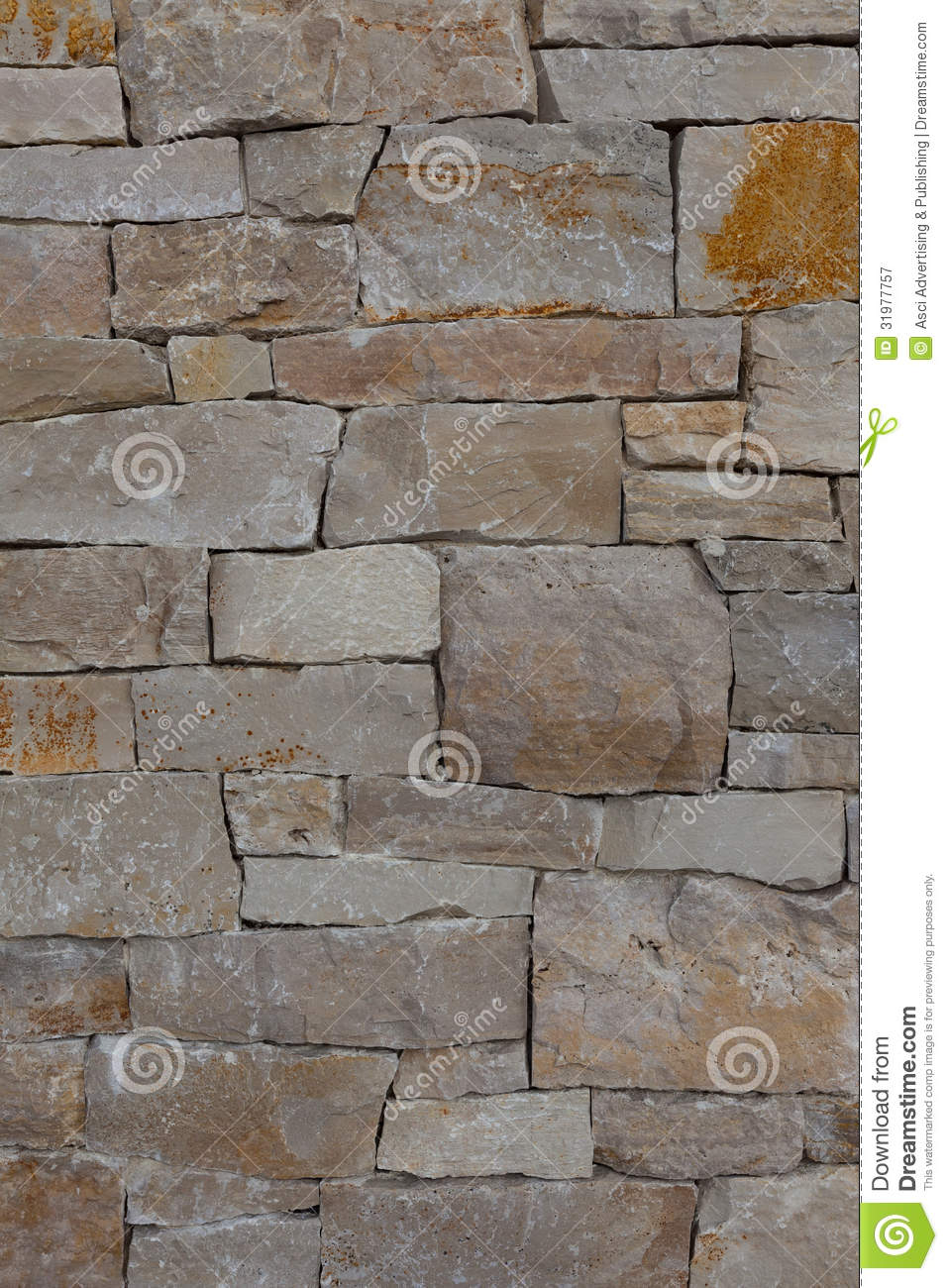 Stone Wall Pattern : Natural stone granite brick wall pattern background