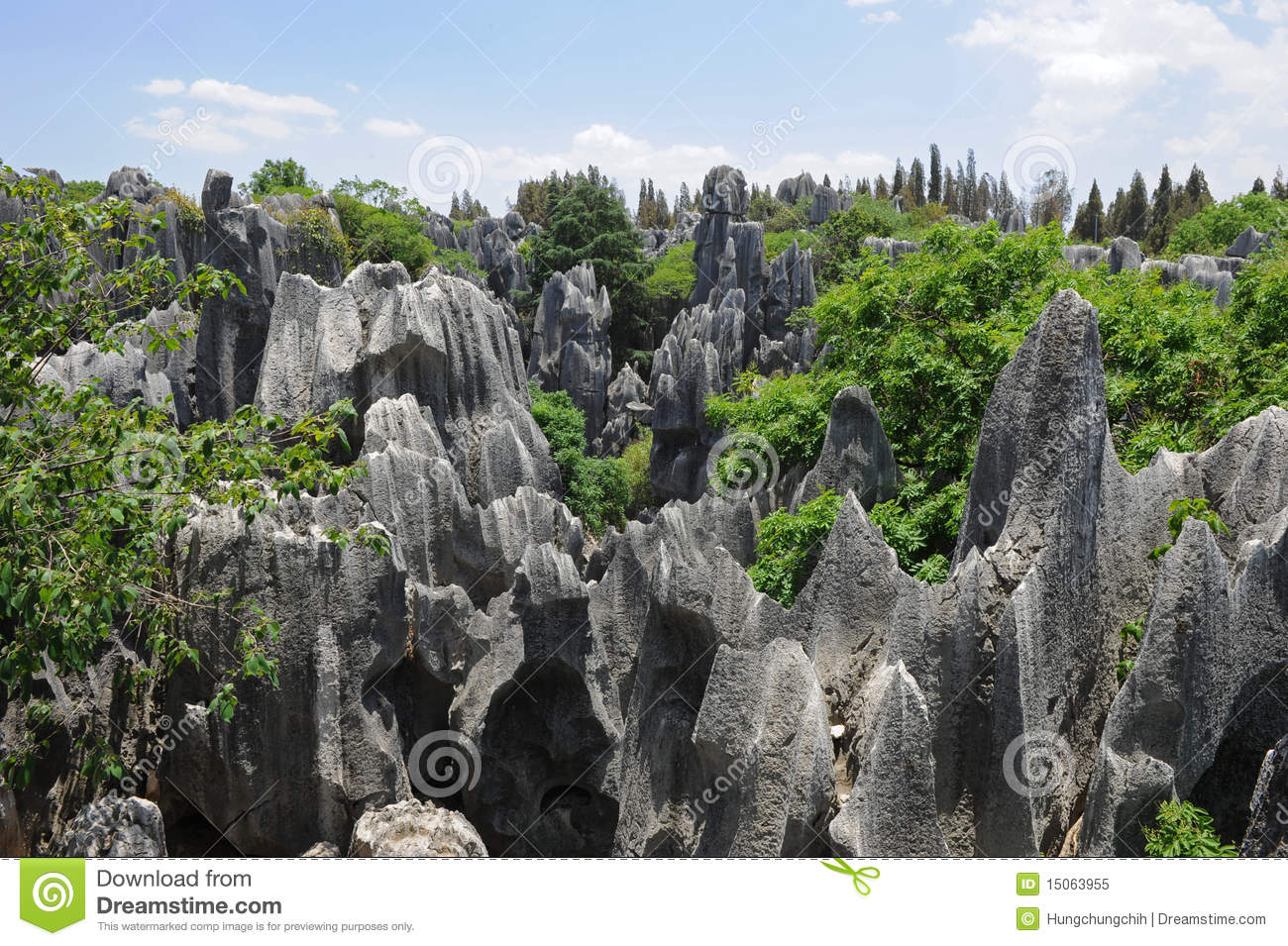 Natural Wonders Of The United States Natural Wonders Of China Stone Forest Royalty Free Stock