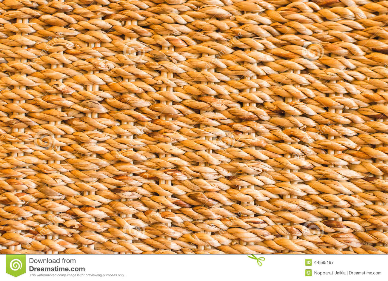 Natural yellow straw texture and background